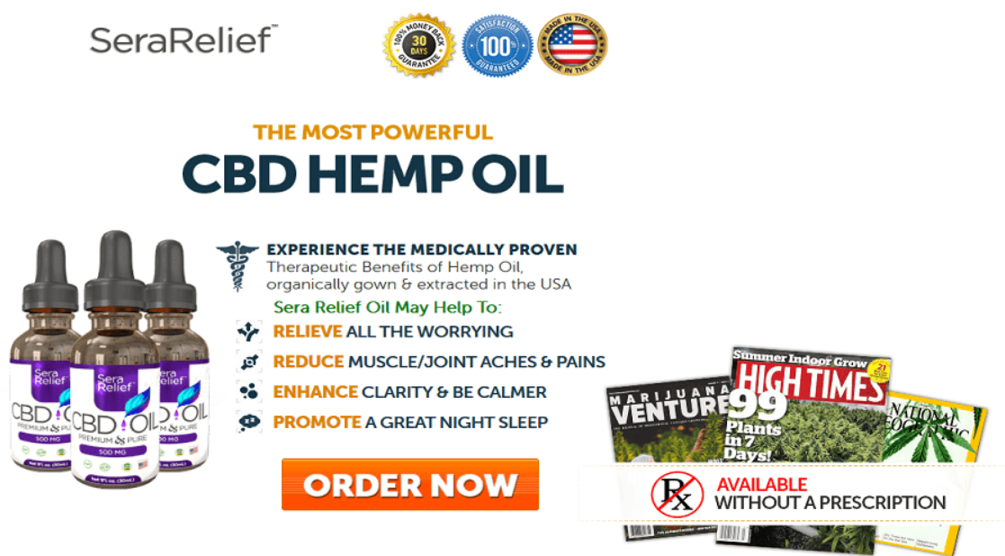 Sera Relief CBD Oil1