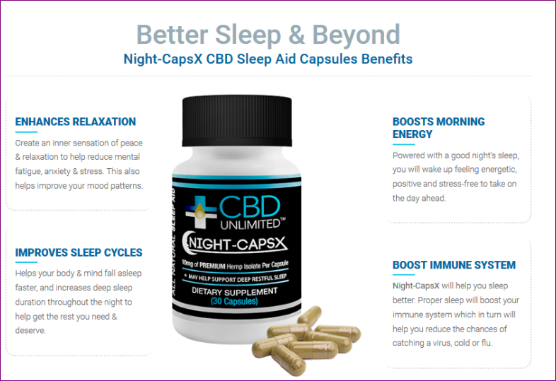 CBD Unlimited Night Caps