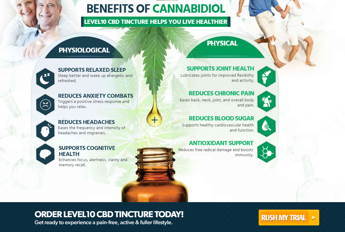 Level 10 CBD Oil Benefits