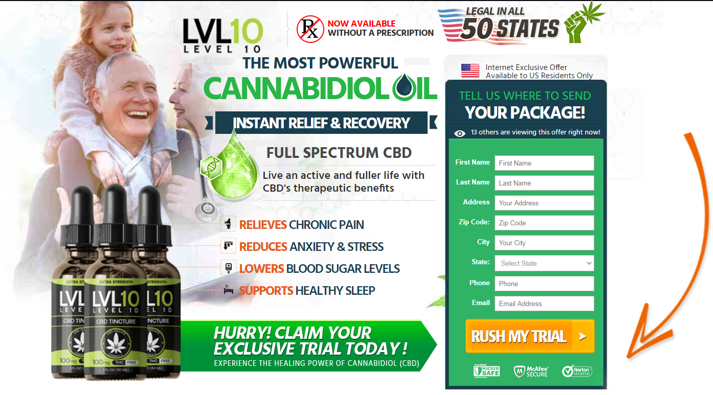 Level 10 CBD Oil Buy