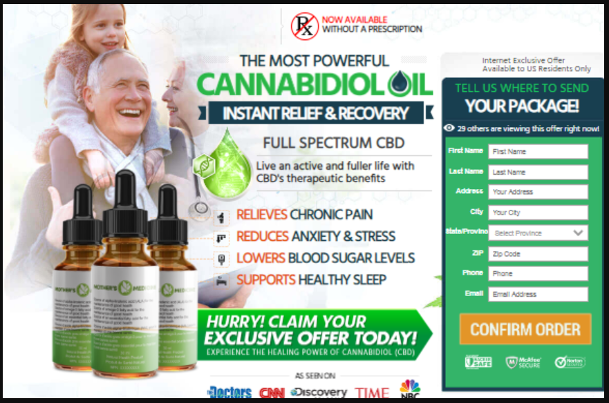 Mothers Medicine CBD [Canada-CA]: Is Mothers Medicine CBD Oil Safe? Reviews, Benefits, #Price, [Warning] Where To Buy Mothers Medicine CBD?