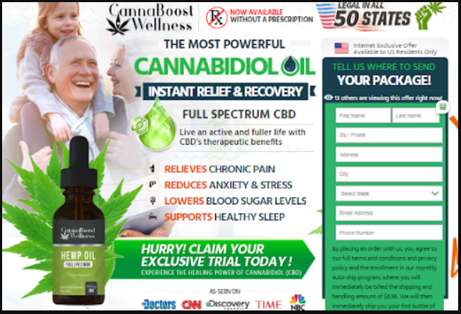 Cannaboost Wellness CBD Buy
