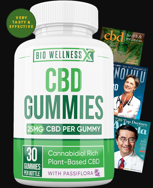 Bio Wellness X CBD Gummies