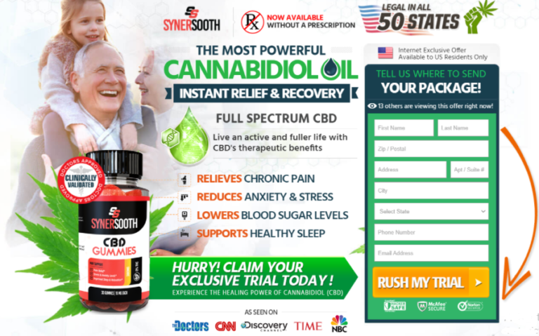 SynerSooth CBD Gummies: Does It Safe? #Reviews! Where To ...