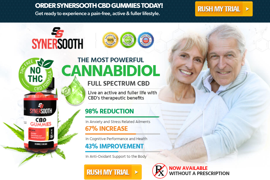 SynerSooth CBD Gummies, Does It Work? Official Website?
